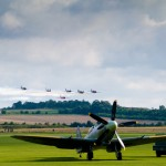 Spitfires at Duxford