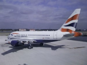BA1, ready to depart